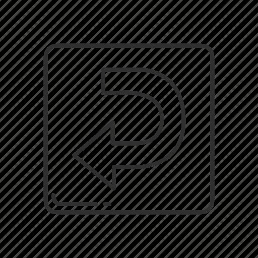 arrow, arrow curving left, direction, emoji, left, leftwards arrow, replay icon