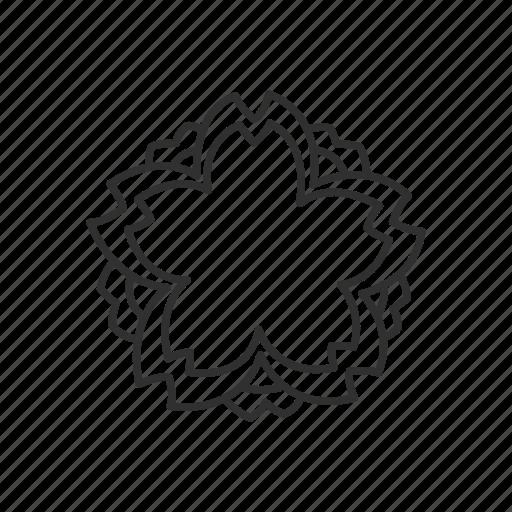 emoji, floral, flower, plant, white flower, white flower symbol icon