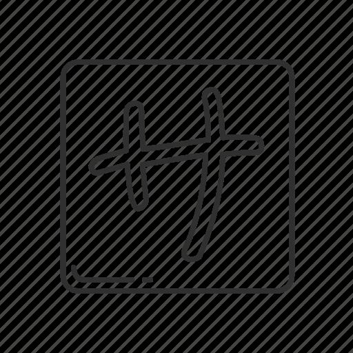 emoji, japanese, japanese symbol, katakana sa, katakana sa symbol, squared katakana sa icon