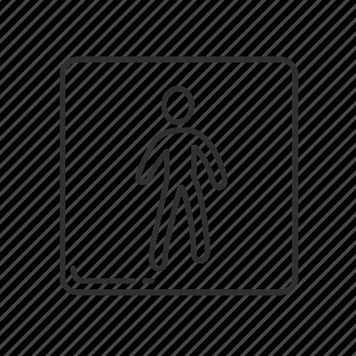 emoji, male, man, men symbol, men's comfortroom, men's restroom, person icon