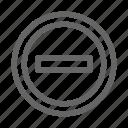 delete, forbidden, no, prohibited, sign, stop icon