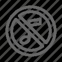 mute, no, sound, system icon