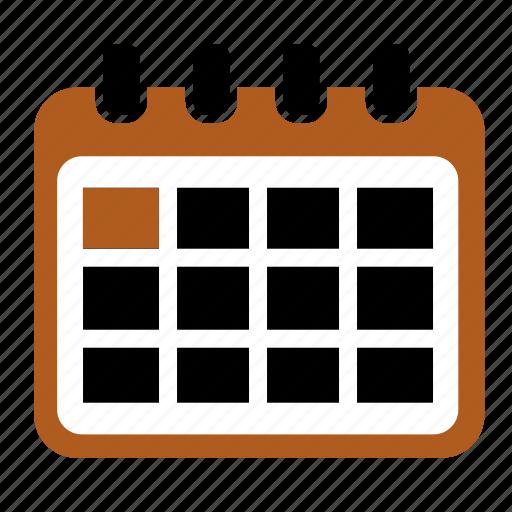 calendar, event, schedule, scheduler icon
