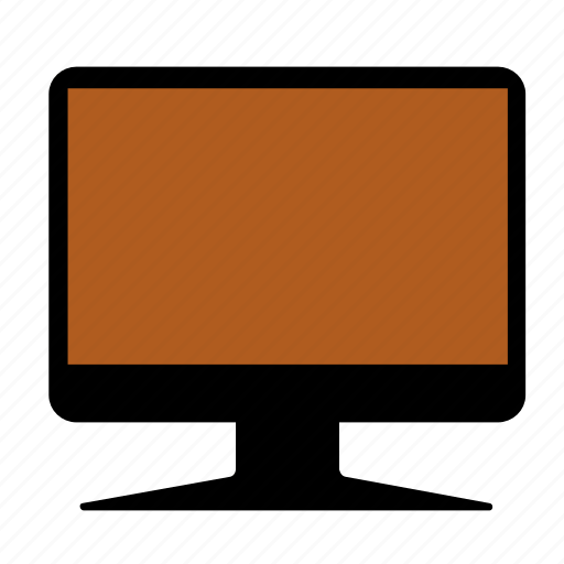 computer, display, screen icon