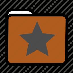 favorites, folder, star icon
