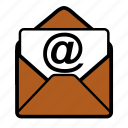 email, mail, open icon