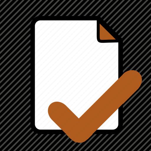 document, file, properties icon