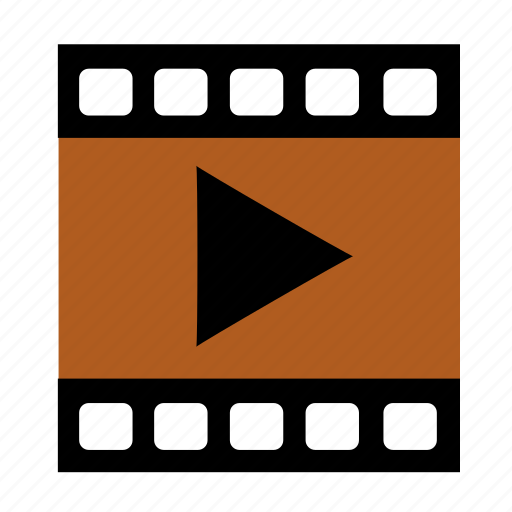 movie, multimedia, video icon