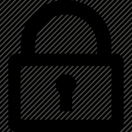 lock, lockscreen, safe, system icon