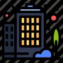building, company, enterprise icon