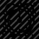 efficiency, productivity, stopwatch icon