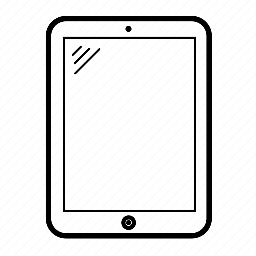 android tablet, computer tablet, ipad, screen, tablet, tablet display, technology icon