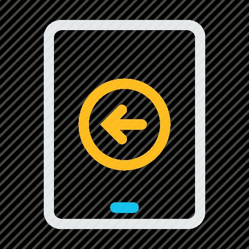 computer, mobile, phone, tabletleft icon