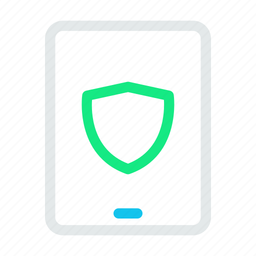computer, mobile, phone, tabletshieldsafe icon