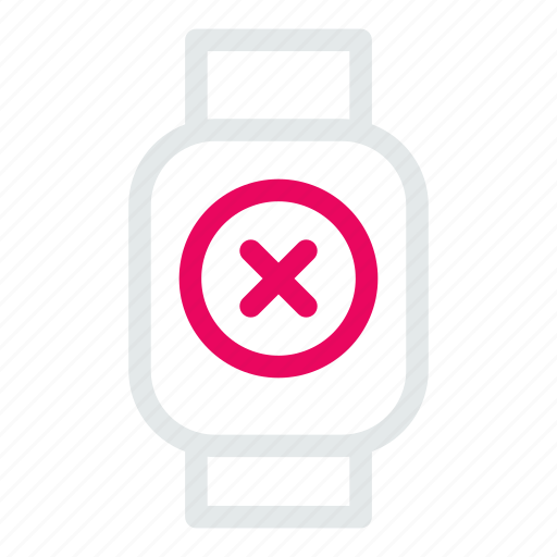 device, mobile, smart, watchdelete icon