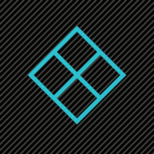 bookmark, figure, label, rhombus, tag icon