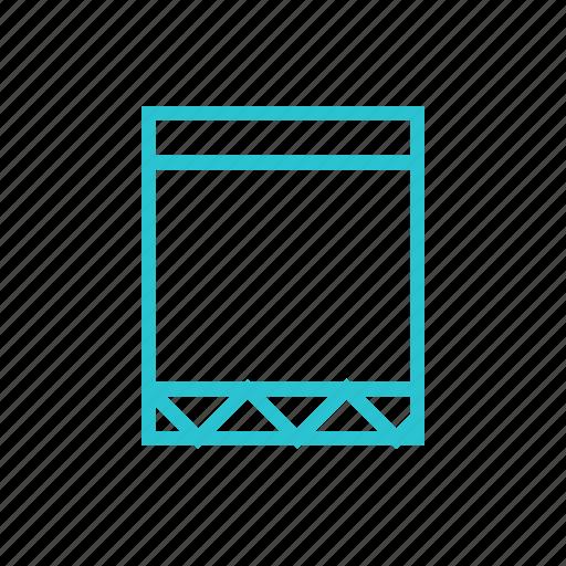 bookmark, figure, label, square, tag icon
