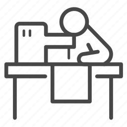 clothes, garment, machine, sewing, tailor icon