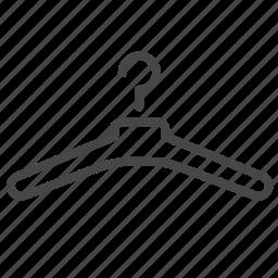 cloth, garment, hanger, tailor icon