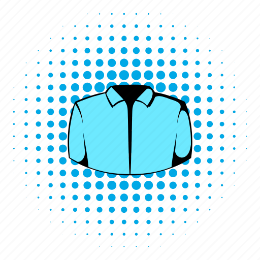 blank, clothing, comics, dress, fashion, male, shirt icon