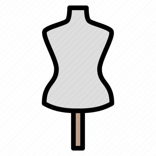 dummy, fashion, mannequin, statue, tailor icon