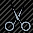 cutting, scissor, tailor, tool icon