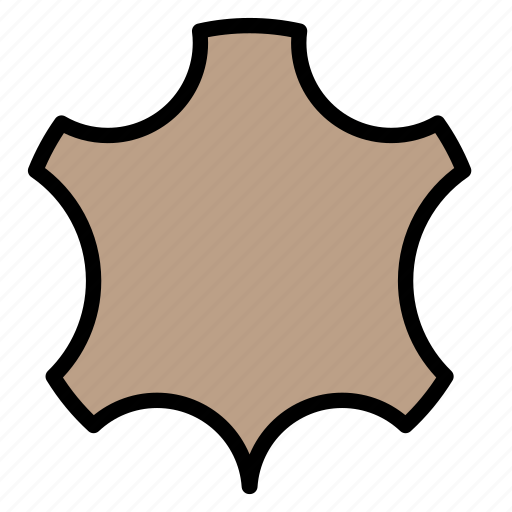 leathe, leather, sewing, skin, tailor icon