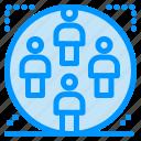 family, group, man, team, user icon