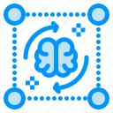 brain, file, mind, process, storming icon