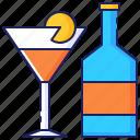 alcohol, beverage, business, celebration, cocktail, drink, wine icon