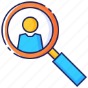 business, candidate, employee, employment, job, person, recruitment icon