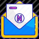 business, envelope, letter, mail, marketing, newsletter, paper icon