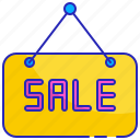 discount, gold, marketing, pink, sale, sales, sign