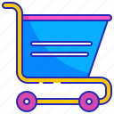 blue, business, buy, cart, purchase, shop, shopping icon