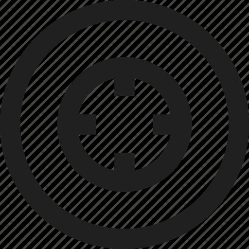 design, line, target, web icon