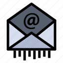 business, e, mail icon