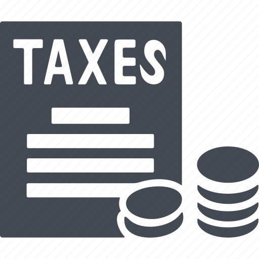 accounting, business, calculator, finance, income, tax icon
