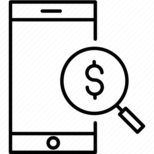 balance, check, money, search icon