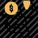 bank, earn, income, piggy, salary icon