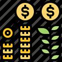 earn, investment, profit, revenue, saving