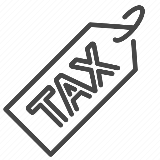 charge, duties, payable, tax, taxes, value added tax, vat icon