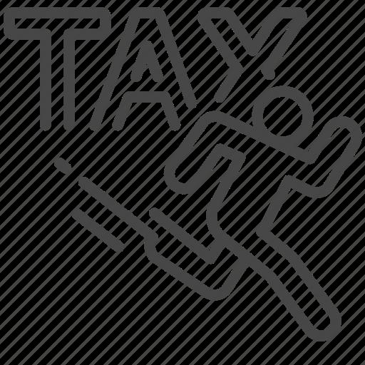 charge, duties, evasion, payable, tax, taxes icon