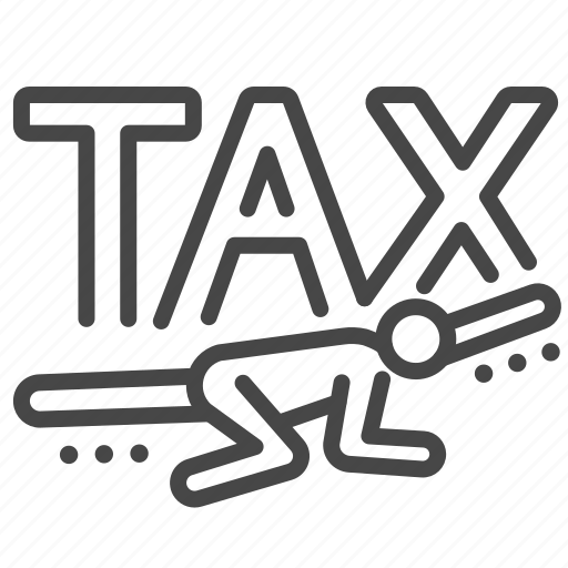 charge, duties, heavy, payable, tax, taxes icon