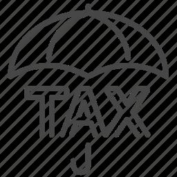 duties, evasion, payable, plan, protection, tax, taxes icon