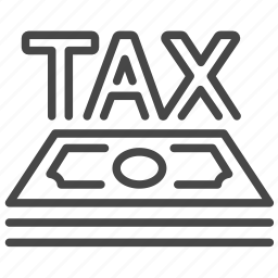 charge, duties, income, payable, tariff, tax, taxes icon