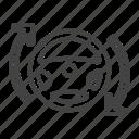 car, steering, vehicle icon