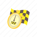 cartoon, speed, stopwatch, taxi, time, timer, watch icon