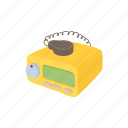 cab, call, car, cartoon, radio, taxi, transportation icon