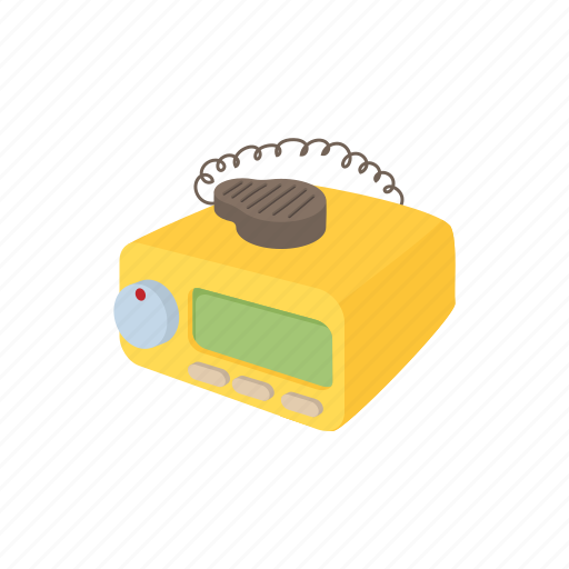 cab, call, car, cartoon, radio, taxi, transportation icon