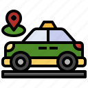 location, maps, pin, placeholder, pointers, route, taxi